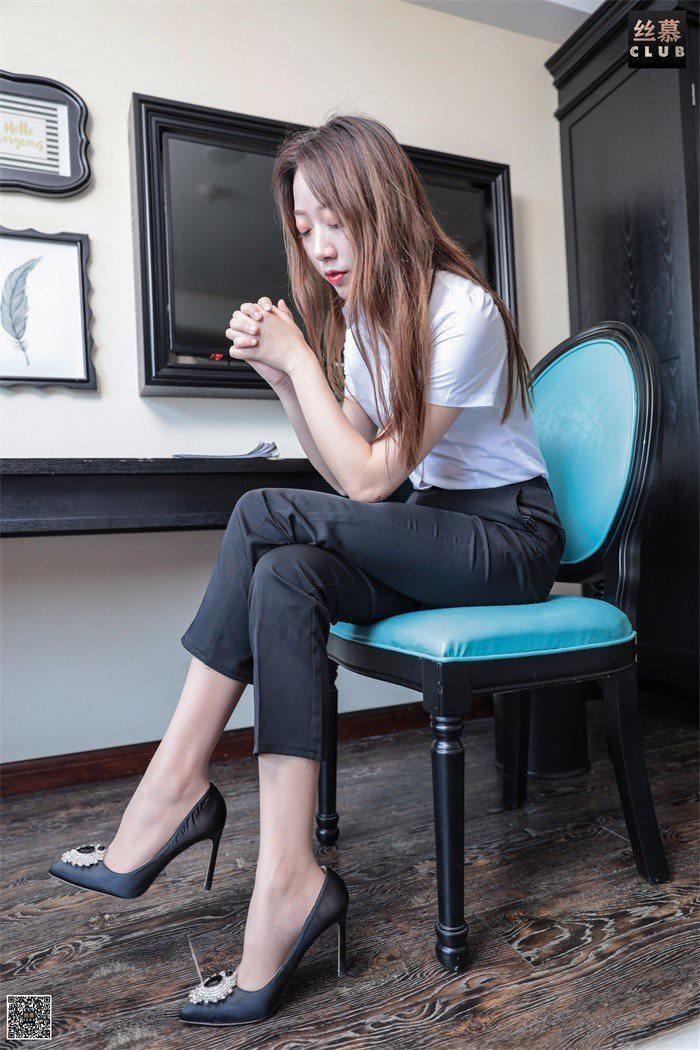 [丝慕GIRL] SM044 佳丽 天天一元《白领的日常工作》[54P/79.7M]